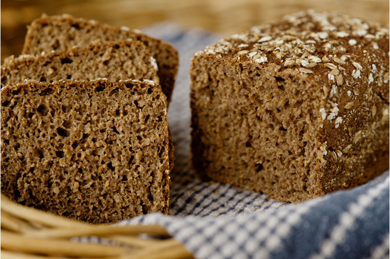 Rye Bread, Organic, whoilegrain, Vegan, Sugar free, Yeast free,