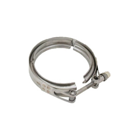 "S400SX Turbine Outlet Flange Clamp 5.75"" Half Marmon"