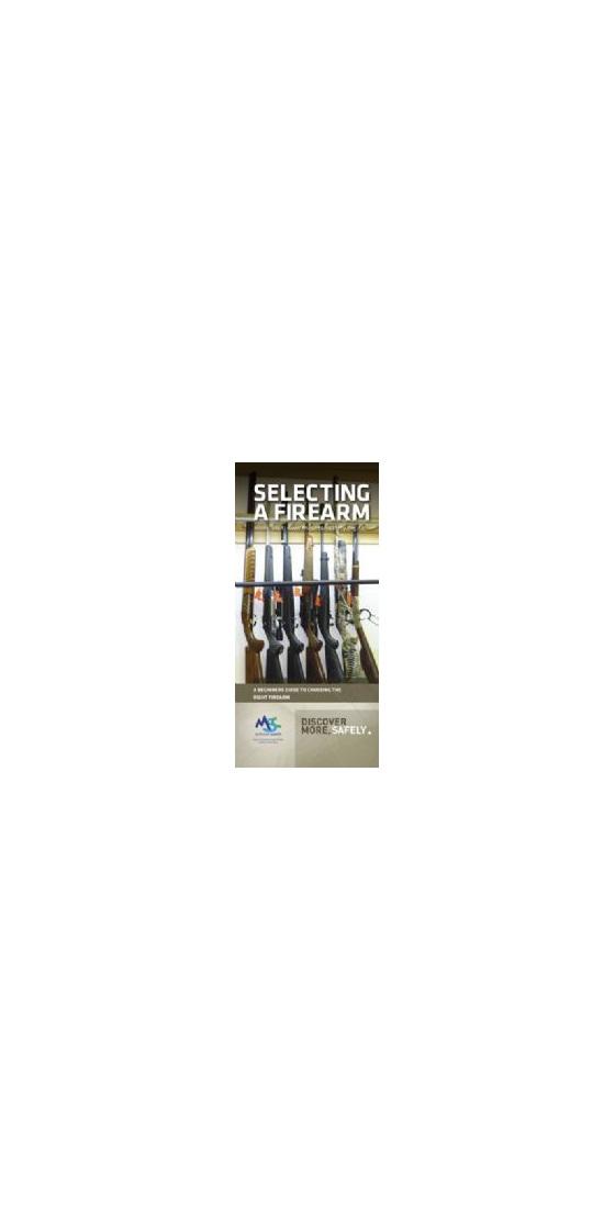 SAFP - Selecting a Firearm Pamphlet