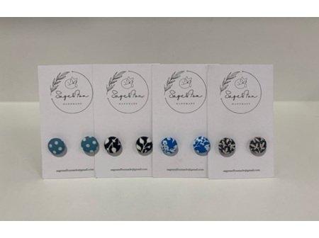 Sage and Fox Handmade - Small Earrings
