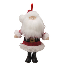 Saint Nick Musical Ornament - 17.5cm