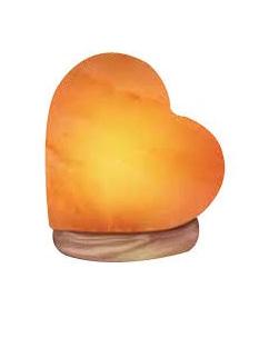 Salt Lamp Heart