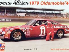 Salvinos JR Models 1/25 Donnie Allison's Hawaiian Tropic Oldsmobile
