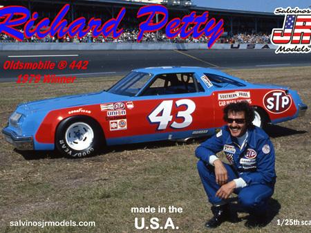 Salvinos JR Models 1/25 Richard Petty 1979 Daytona Winning Olds 442