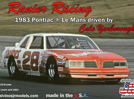 Salvinos JR Models 1/24 1983 Pontiac Le Mans Hardees (RRLM1983)