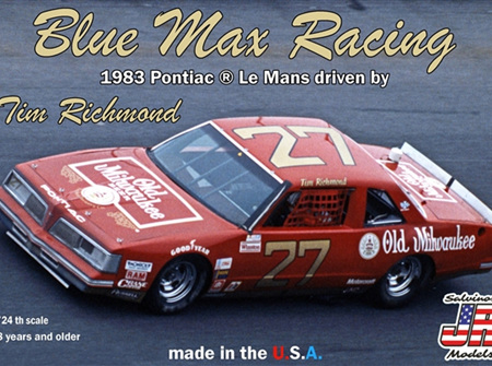 Salvinos JR Models 1/24 1983 Pontiac Le Mans Tim Richmond (BMLM1983P)