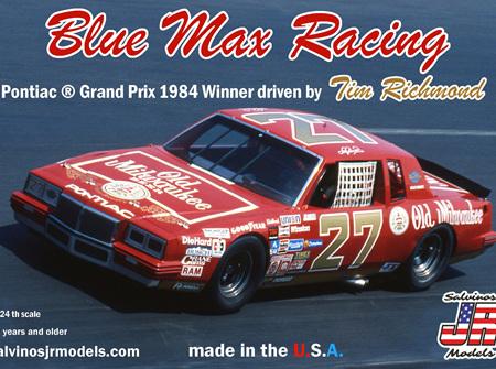 Salvinos JR Models 1/24 Blue Max Racing 1984 Pontiac Grand Prix Winner driven by Tim Richmond