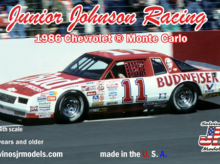 Salvinos JR Models 1/24 Junior Johnson Racing 1986 Chevrolet ® Monte Carlo