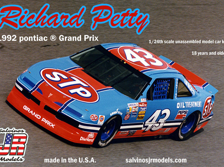 Salvinos JR Models 1/24 Richard Petty 1992 Pontiac Grand Prix (RPGP1992A)