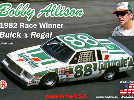 "Salvinos JR Models 1/25 Bobby Allison's 1982 Race Winning ""Gatorade"" #88 Buick Regal (SAL1982D)"