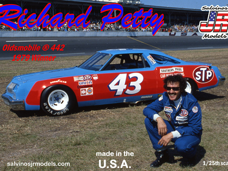 Salvinos JR Models 1/25 Richard Petty 1979 Daytona Winning Olds 442