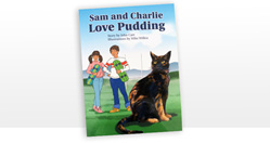 Sam and Charlie Love Pudding - six copies