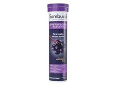 Sambucol Black Elderberry  (15 Effervescent tabs)