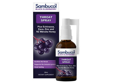 Sambucol Soothing Throat Spray