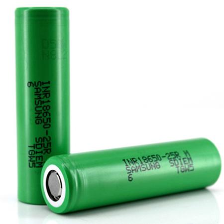 Samsung 25R - 18650 - INR - 2500mAh