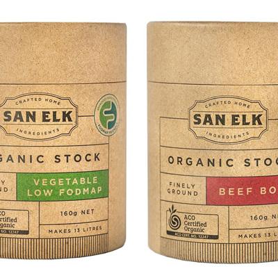 San Elk Artisan Organic Stock Powders - 160g