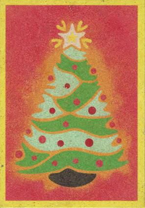 SandArt Christmas Tree only