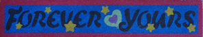 SandArt Forever Yours Bookmark