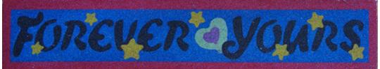 SandArt Forever Yours Bookmark