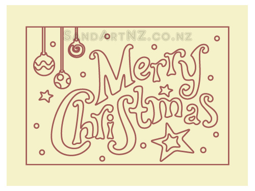 SandART NZ - Christmas Cards, Christmas Message, Merry Christmas, Postcards