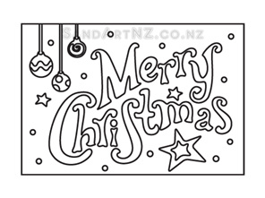SandART NZ - Christmas Cards, Christmas Message, Merry Christmas, Postcards