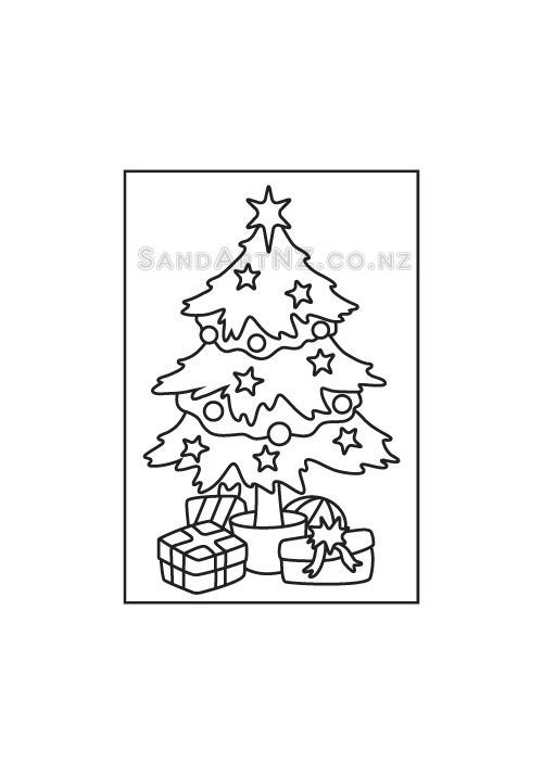 SandART NZ - Christmas Cards, Christmas Tree, Postcards