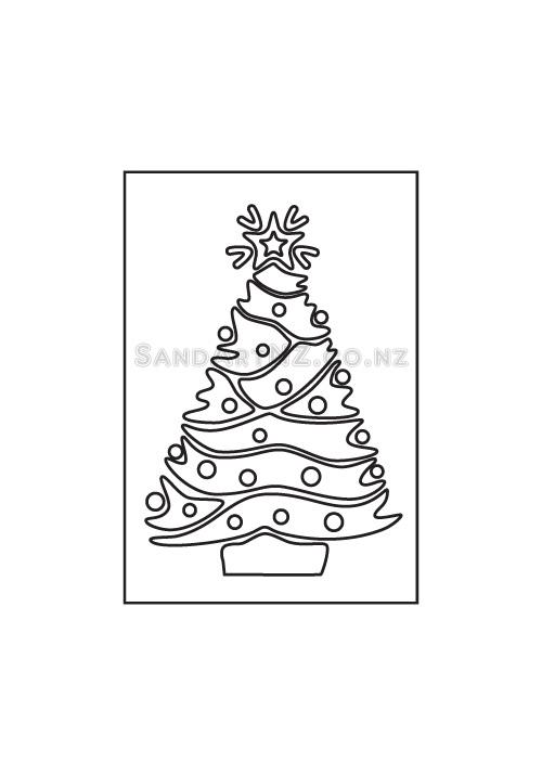SandART NZ - Christmas Cards, Christmas Tree, Postcards