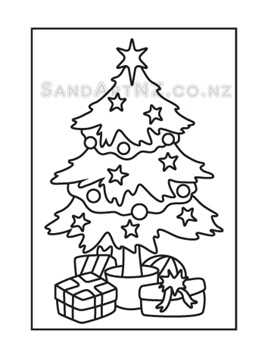 CP08 - Christmas Tree with Gifts