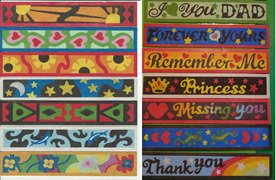 SandART NZ - Some of our fabulous bookmarks completed by our clients!