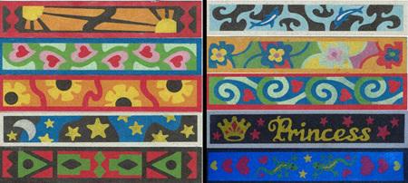SandArt Set of 10  Bookmarks