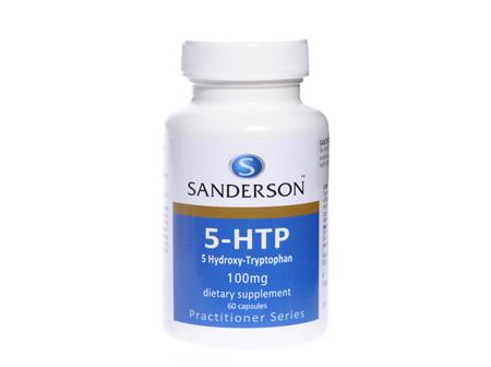Sanderson® 5-Htp 100Mg (5-Hydroxy-Tryptophan) -  60 Capsules
