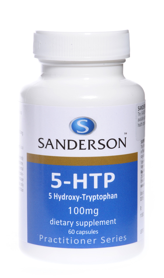 Sanderson® 5-Htp 100Mg (5-Hydroxy-Tryptophan) -  60 Capsules