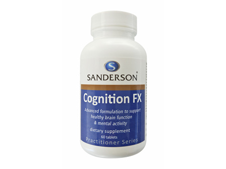 Sanderson Cognition FX  - 60 Tabs