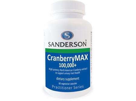 Sanderson CranberryMAX 100,000+ - 60 Caps