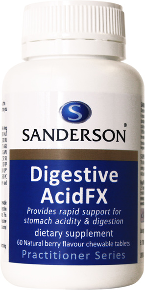 Sanderson™ Digestive Acid FX - 60 Chewable Tablets