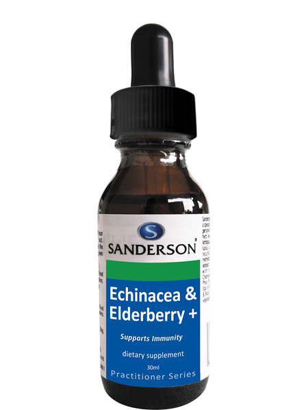 Sanderson Echinacea & Elderberry+ - 30Ml