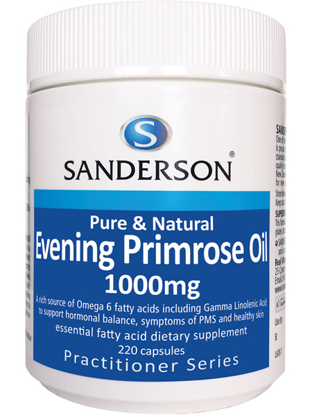 Sanderson Evening Primrose Oil 1000Mg - 220 Caps