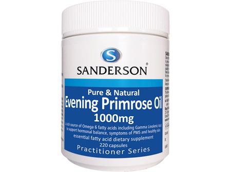 Sanderson Evening Primrose Oil 1000Mg - 220 Caps