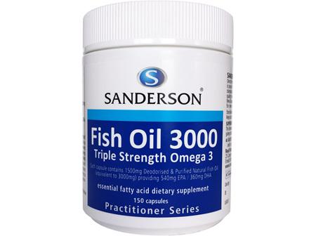 Sanderson™ Fish Oil 3000  - 150 Capsules