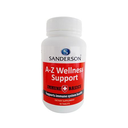 Sanderson Immune Basics A-Z Wellness Support 90 tabs