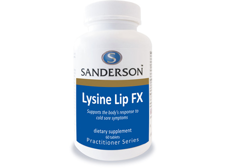 Sanderson Lysine Lip FX - 60 Tabs