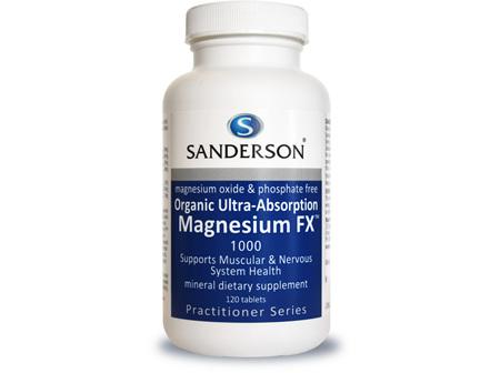 Sanderson™ Magnesium FX - 120 Capsules