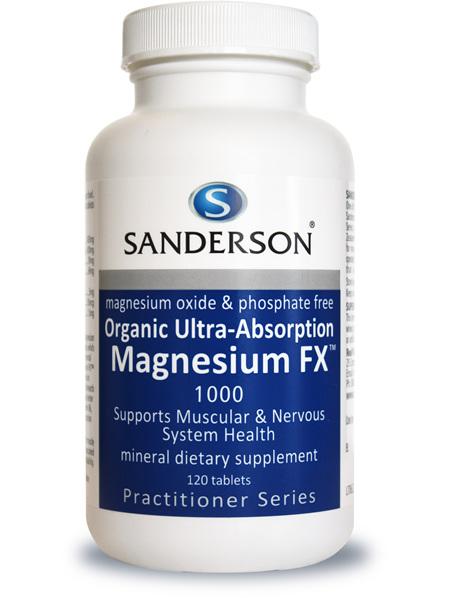 Sanderson™ Magnesium FX - 120 Tablets