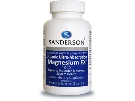 Sanderson™ Magnesium FX - 60 Tablets
