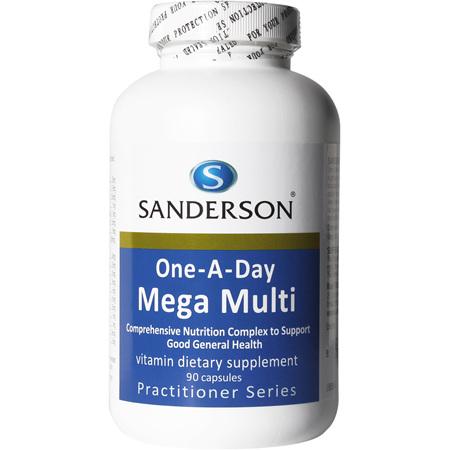 Sanderson™ One-A-Day Mega Multi   - 90 Capsules