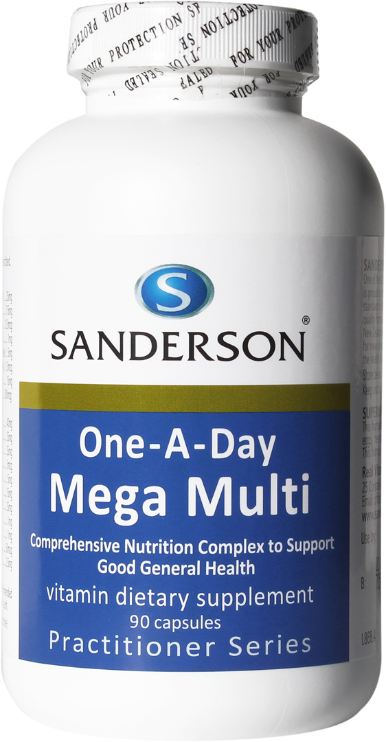 Sanderson™ One-A-Day Mega Multi   - 90 Capsules