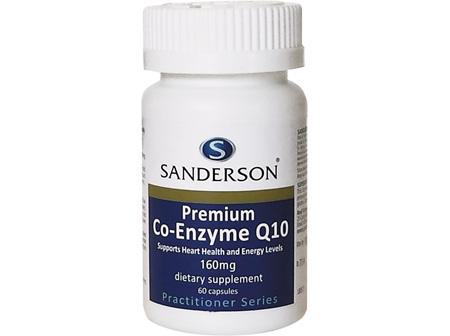 Sanderson® Premium Co-Enzyme Q10 160Mg - 60 Capsules