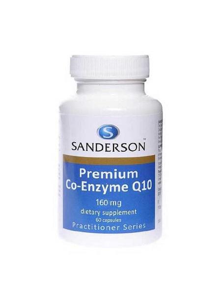 SANDERSON Premium CoQ10 160mg 60