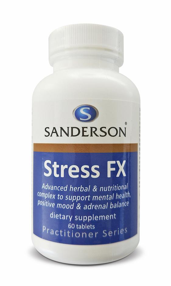 Sanderson Stress FX - 60 Tabs