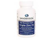 Sanderson Triple Zinc FX 100s